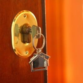 Hausschlüssel mit Anhänger: Heim