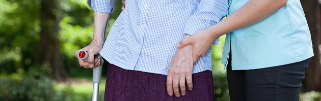 Händehalten Pflege