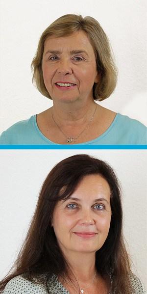Porträts von Heidi Schmidt und Maria Sievers