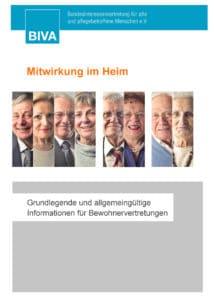 Broschüre Mitwirkung im Heim
