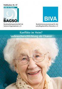 Cover Broschüre Konflikte im Heim