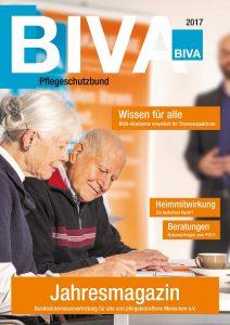 Cover des Jahresmagazins 2017