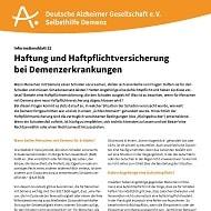 Screenshot Broschüre Haftung Demenz