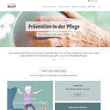 Screenshot Präventionsportal